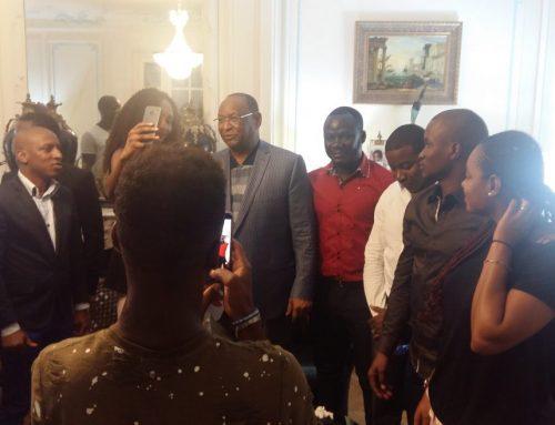 Les guinéens de la Région du Centre en France prédisent la victoire de Kouyaté en 2020
