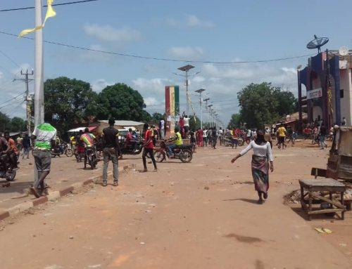 Entre la construction d'un Barrage Hydroélectrique et Ressusciter le Chinois, le gouvernement guinéen dans la disgrâce à Kankan.