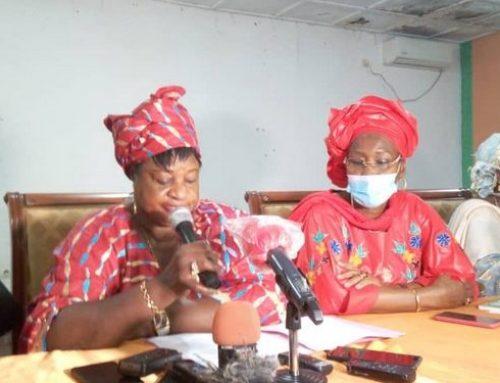 """Paiement de la caution d'Alpha Condé : les femmes du FNDC dénoncent une """"démagogie et une corruption"""""""