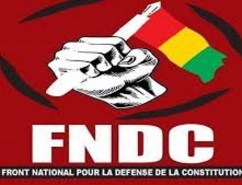 Les vérités du FNDC aux émissaires CEDEAO, ONU, UA.