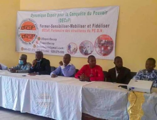 DECoP à Kankan : les militants du PEDN à l'école de l'Espoir !