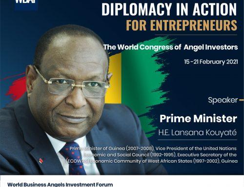Congrès Mondial sur la Diplomatie en Action pour les Entrepreneurs, Lansana Kouyaté au rendez-vous