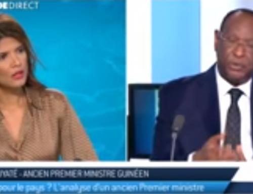 Lansana KOUYATÉ: «Il faut tirer les leçons de l'échec d'autres transitions.»