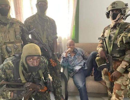 Le chef d'État Guinéen renversé par l'armée républicaine